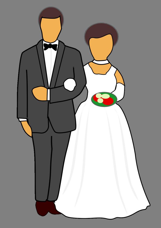 Přání pro novomanžele, texty, obrázky - Blahopřání k svatbě novomanželům